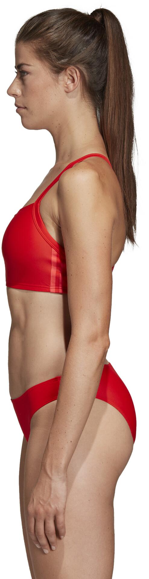 adidas Fit 3 Stripes Infinitex Bikini Women active red